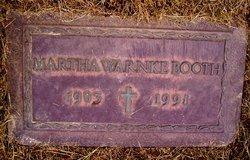 Martha May <i>Burke</i> Booth Warnke