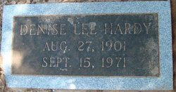 Denise Lee <i>Horne</i> Hardy