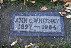 Ann Christine <i>Hanson</i> Whitney
