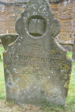 Fanny Archer