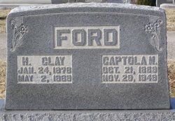 Captola Cappie <i>Midkiff</i> Ford