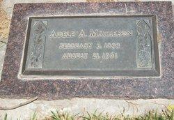 Adelle <i>Adams</i> Matheson