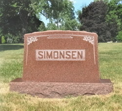Agnes Carrie <i>Gunderson</i> Simonsen
