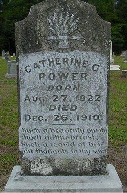 Catherine G <i>Sims</i> Power