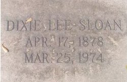 Dixie Lee Sloan