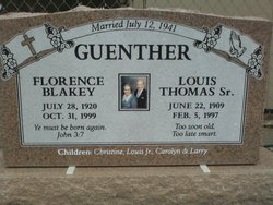Louis Thomas Guenther, Sr