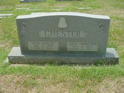 Julia Etta <i>Overcash</i> Chester