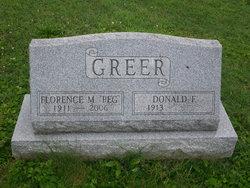 Florence Marguerite Peg <i>Wintsch</i> Greer