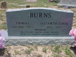 Elizabeth Betsy <i>Coker</i> Burns