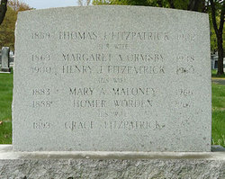 Margaret A. <i>Ormsby</i> Fitzpatrick