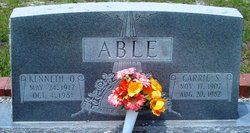 Carrie <i>S</i> Able