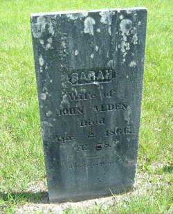 Sarah <i>Brooks</i> Alden