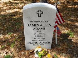 Sgt James Allen Adams