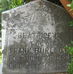 Beatrice Lily <i>Wiseman</i> Burleson