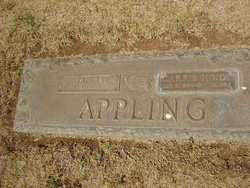 Sarah Caroline Carrie <i>Hinds</i> Appling