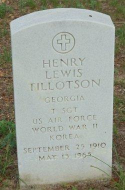 Henry Lewis Tillotson