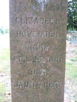 Elizabeth <i>Whitney</i> Hovenden