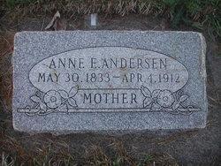 Annie Elizabeth <i>Plowman</i> Anderson