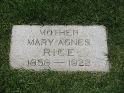 Mary Agnes Rice