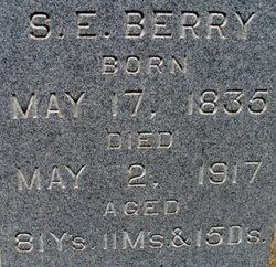 Sarah E. <i>Cloud Martin</i> Berry