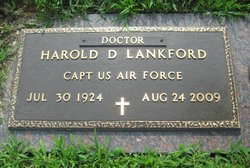 Dr Harold David Lankford