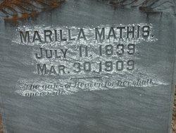 Marilla Rilla <i>Carson</i> Mathis