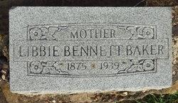 Libbie Bennett Baker