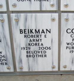 Robert Eugene Beikman