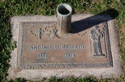 Antonia <i>Huerta</i> Basurto