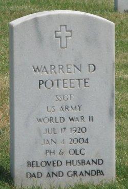 Warren Dale Poteete