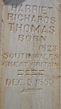 Harriett <i>Richards</i> Thomas