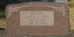 Alice Lea <i>Owens</i> Fox