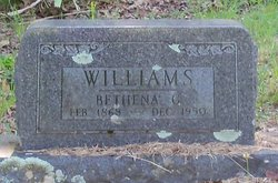 Bethena Julia Geraldine Thener <i>Keck</i> Williams
