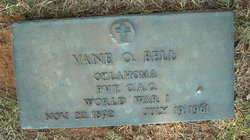 Vane Otto Bell, Sr