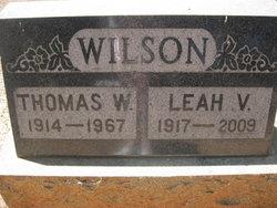 Leah Virginia <i>Aslin</i> Wilson