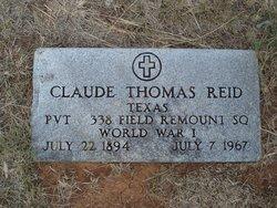 Claude Thomas Reid