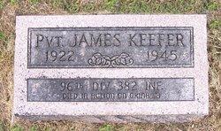 Pvt James Keefer