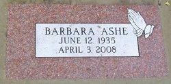 Barbara Ashe