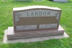 Wayne E Landon