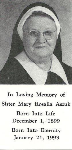 Sr Mary Rosalia (Mackiewicz) Aszuk