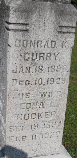 Edna L <i>Hocker</i> Curry