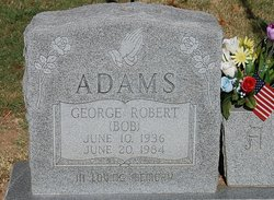 George Robert Bob Adams