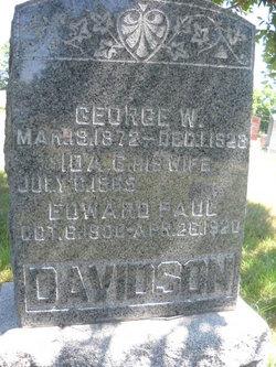 Ida G. <i>Dahlberg</i> Davidson