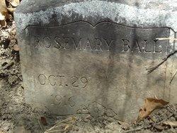 Rose Mary Ball