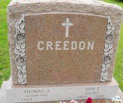 Ann F <i>Kokosky</i> Creedon