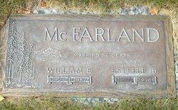 William Edward Billy Dugal McFarland McFarland