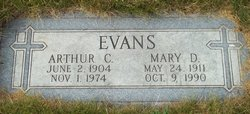 Mary <i>Dugal</i> Evans