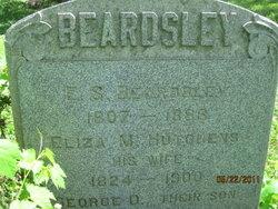 Eliza M <i>Hutchens</i> Beardsley