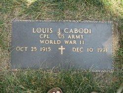 Louis J Cabodi