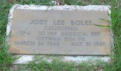 Spec Joey Lee Boles